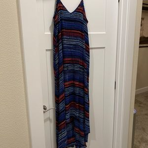 Super cute lined maxi dress